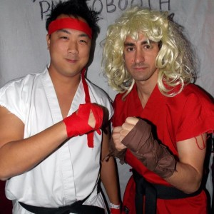 Ken and Ryu
