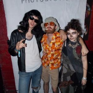 Dee-Dee, Hunter, and Rag-doll